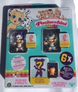 Paciocchini Twozies blister 3 personaggi e 3 animaletti - 1 modello Twozies MILLI - 1 personaggio SQUAWKY  , animaletto HUMS come foto