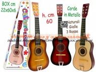 Teorema chitarra in legno funzionante
