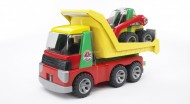 BRUDER ROADMAX Camion ribaltabile con ruspa [ COD 20070 ]
