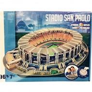 Giochi Preziosi - Nanostad, 3D Stadium Puzzle Stadio San Paolo/Napoli  GPZ15130