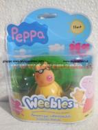 NOVITA' PEPPA PIG WEEBLES ! PEDRO PONY  SEMPRE IN PIEDI DI GIOCHI PREZIOSI CON BASE AGGANCIABILE PER 18 M+ COD. 05110