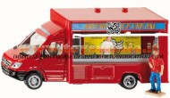 Siku 1933 Mercedes Sprinter automarket vendita fish and chips, banchetto del pesce scala 1/ 50