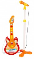 Bontempi - Chitarra Rock Elettronica e Microfono da Palco, 24 5025