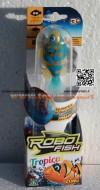 ROBO FISH TROPICAL , ROBOFISH TROPICAL CON COLORI TROPICALI SIMULA IL MOVIMENTO DI UN PESCE VERO MODELLO GIALLO E BLU COD NCR 02239