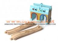 Chuggington PREZZO BASSO MODELLO STAZIONE WOOD TUNNEL DEPOT COD LC56801 GIOCHI , toys , BRINQUEDOS ,JUGUETES , JOUETS , giocattolo