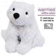 Warmies peluche termico orso polare