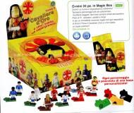 !!!!! NUOVISSINI O-MINI OMINI  !!!!!! COMPATIBILI CON LEGO, OFFERTA SERIE COMPLETA FORMATA DA 24 PEZZI DIVERSI E COMPRESO DI UN PREMIO COD 404010