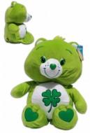 Fortunorso 24/30cm Orso Soffice Peluche Verde Quadrifoglio Gli orsetti del cuore Care Bears