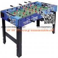 CALCETTO ,CALCIO BALILLA IN LEGNO SOCCER MATCH ,SPORT GAMES 122X81X61 COD 1029