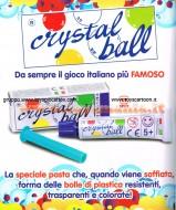 CRYSTAL BALL TUBETTO OFFERTA 4 COLORI DIVERSI COD CGC120A