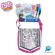Color Me Mine Borsa Frozen disney colorabile come piace a te completa di colori