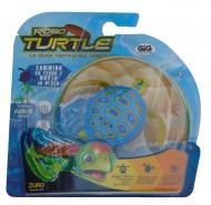 ROBO TURTLES  blu  la tartaruga che  va nella sabbia e nuota - funziona a pila comprese -  NCR25157