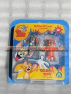 !!!! GIOCHI PREZIOSI TOM E JERRY !!! TOM and JERRY ACTION FIGURES TOM E JERRY personaggio il rivale Kyle the Cat e Tom, COD CCP 15054