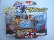 DRAGON BALL GT PERSONAGGI GIOCATTOLO GOKU SUPER SAIAN 3 E TRUNKS OFFERTA DUE PEZZI GIOCATTOLI