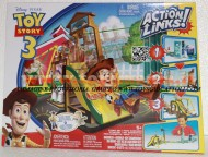 GIOCATTOLO DISNEY TOY STORY 3 ACTION LINKS Sunnyside Breakout deluxe playset