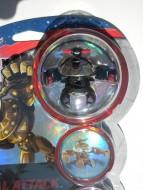 Nuovi modelli Bakugan Special Attack personaggio Vulcan nero  ultima serie  ccp11915