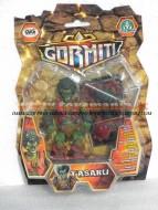 !!! GORMITI Cartoon 2012 !!! NUOVISSIMA SERIE DA 10 cm  CAMBIA COLORE CON CARTA OLOGRAFICA personaggio TASARU  toys , BRINQUEDOS ,JUGUETES , JOUETS , giocattolo COD 02620