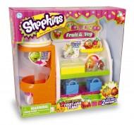 Giochi Preziosi - Set di gioco Shopkins, supermercato frutta e verdura fruttivendolo - fGPZ56006