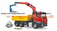Bruder 03651  MB Arocs camion ribaltabile con gru e pallet [ cod 03651 ]