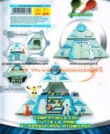 !!! ATOMICRON PIRAMIDE PLAYSET !!!! GIOCHI PREZIOSI ATOMICRON PIRAMIDE COD 18308