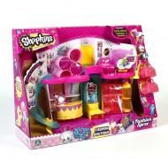 Giochi Preziosi - Shopkins Playset Fashion Boutique con 4 mini Personaggi Esclusivi