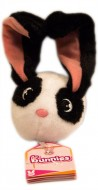 Bunnies Coniglietto magnetico Bianco-Nero