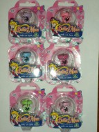 NEW!!!!TOYS , GIOCATTOLI SAILOR MOON OFFERTA  6 ANELLINI , NEW  SAILOR MOON'S  LITTLE RINGS