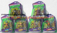 !!! GIOCHI PREZIOSI 2013 !!! OFFERTA 6 PEZZI !! TURTLES TEENAGE MUTANT NINJA, TARTARUGHE NINJA PERSONAGGI  LEONARDO , DONATELLO , RAFFAELLO , MICHELANGELO , SHREDDER E SPLINTER GPZ 90500 90600
