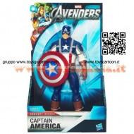 !!! SUPER EROI !!! Avengers Capitan America Giudizio Finale con mossa speciale e scudo girevole Hasbro