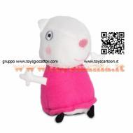 !!!! PEPPA PIG !!! PELUCHE DA 15 CM CON SUONI  CON FUNZIONAMENTO A PILA MODELLO SUSY COD CCP 04431