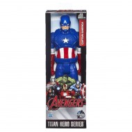 Marvel Avengers Titan Hero Series, Captain America Action Figure, 12