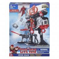Marvel  Playset Miniverse: il Rifugio delle Armi di Iron Man di Hasbro B6740-B5770