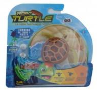 ROBO TURTLES  marrone  la tartaruga che  va nella sabbia e nuota - funziona a pila comprese -  NCR25157