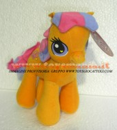MY LITTLE PONY PELUCHE !! MIO MINI PONY  PUPAZZO SCOOTALOO  20 CM CIRCA !!