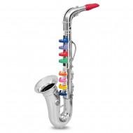 Bontempi SX4331N - Sassofono, 41 cm, Colore: Argento