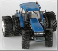 Replicagri modellino nuovo trattore NEW HOLLAND 8560 CON SOLLEVATORE ANTERIORE E GEMELLATURA RUOTE DA APPLICARE E TOGLIERE  REP.B22