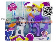 MY LITTLE PONY CRYSTAL PRINCESS PACK PRINCESS LUNA E RARITY A2004