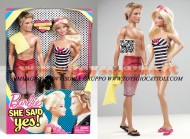 !!! MATTEL !!! Barbie Mi Ha Detto Si! CON KEN E BARBIE 2 PEZZI  T7431
