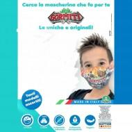 Gig Gormiti Mask - mascherina x bambini con il logo gormiti 8056379106708
