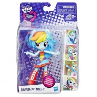 Equestria Girls Small Doll Singole Rainbow Dash B4903 B7786 di Hasbro