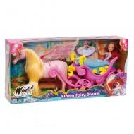 Giochi Preziosi - Winx, Bloom Principessa con carrozza ccp 13140