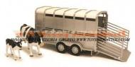 Britains rimorchio trasporta animali scala 1/16 TIPO BRUDER , COMPATIBILE CON GLI ATTACCHI BRUDER lc 42709