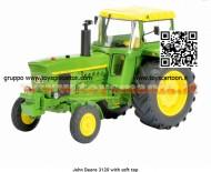 Schuco 450767700 trattore John Deere 3120 with Roof scala  1/32