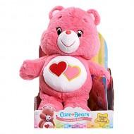 Giochi Preziosi Care Bears Peluche Orsetti del Cuore Amororsa Love-a-lot Bear con Dvd