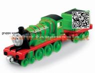 Scorri sopra l'immagine per ingrandirla Condividi le tue immagini cliente Mattel R9037-0 - Thomas e i suoi amici - Locomotiva Henry- grande COD R8852