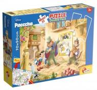 Pinocchio Puzzle Doppia Faccia Supermaxi, 35 Pezzi di Lisciani Giochi 48182 double-face