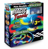 Magic Traks Pista da Corsa per Auto, Glow in the Dark, 1 Auto Inclusa di Giochi Preziosi MAK05000