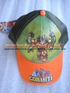 !!!! Cappello !!!!!!  con visiera color arancio per bambini con personaggio gormiti