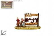 presepe decorazione mestiere bottega alimentare cm 16x10x5  8033113390593