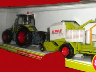 SIKU LIMITED EDITION 3000 PEZZI CLAAS ARES 697 ATZ E ROTOPRESSA CLAAS ROLLANT 255